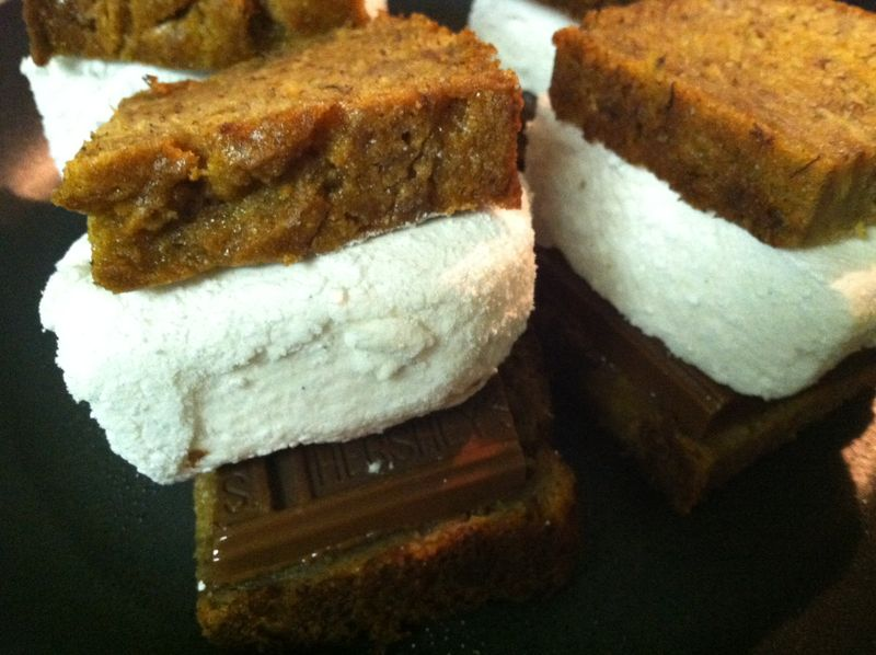 Banana Bread Smores 002