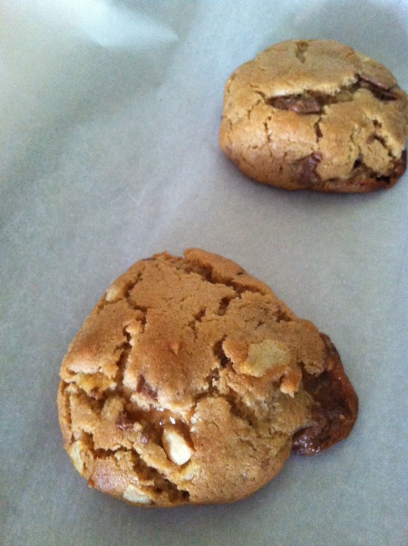 Browned Butter PB Snickers Potato Chip Cookies 002
