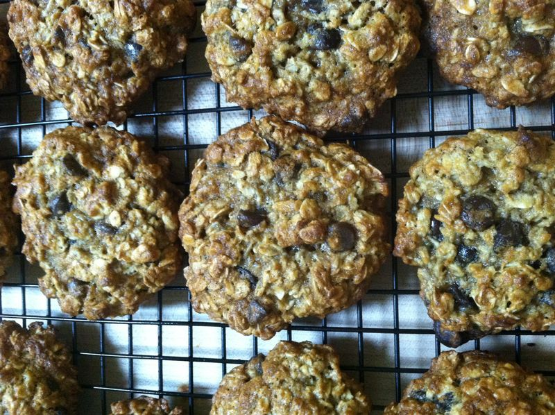 PB Banana Oatmeal Cookies 003