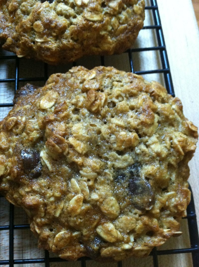 PB Banana Oatmeal Cookies 002