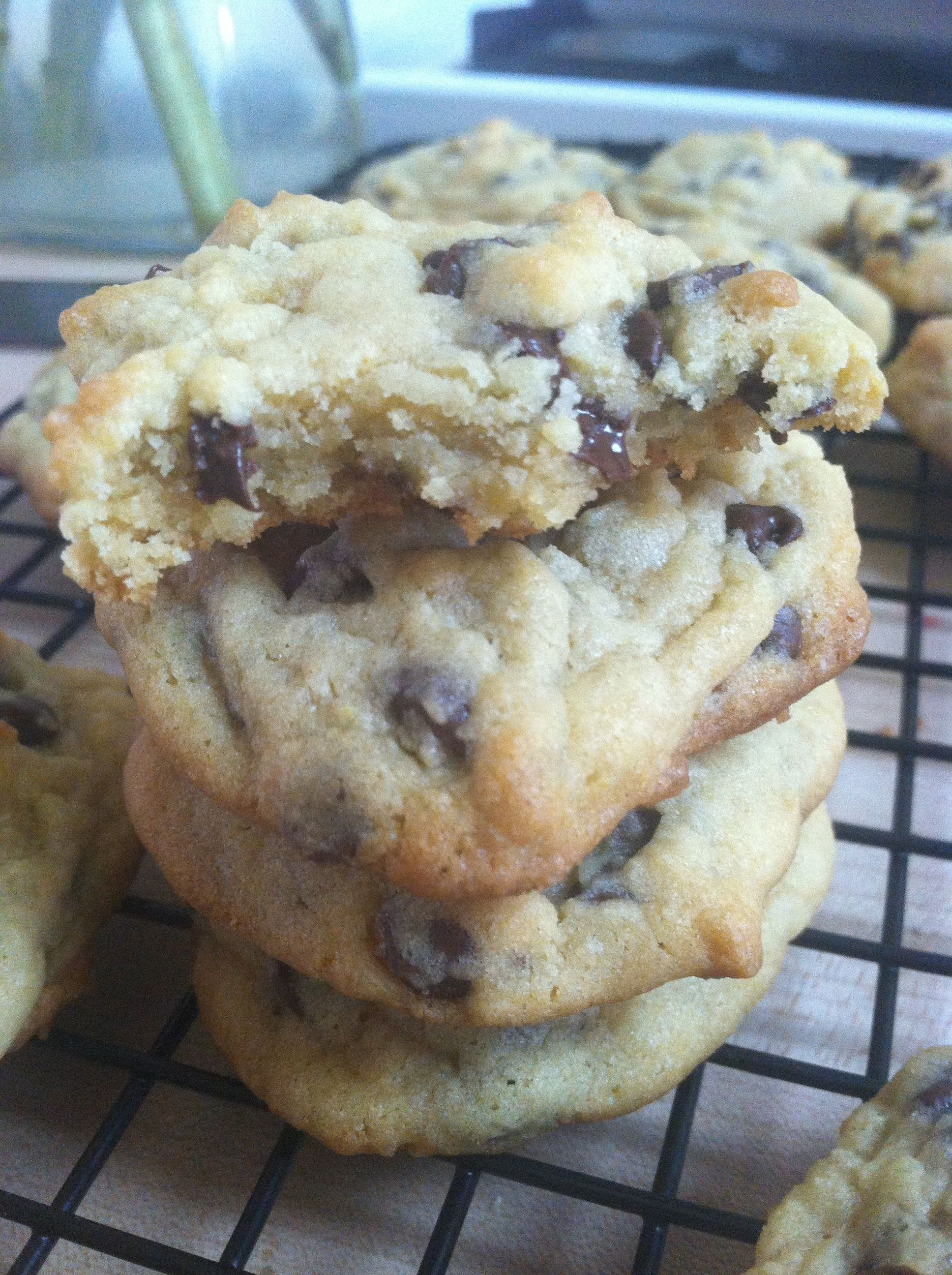 Chocolate chip cookies recipe with pudding